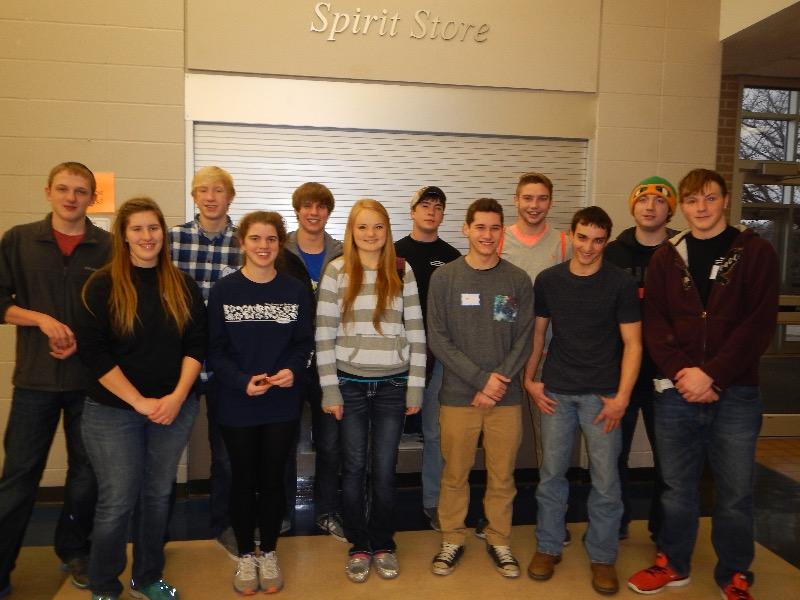 Seward Public Schools Seward High Academic Decathlon Team Captures